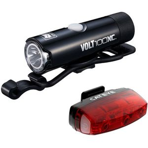 CatEye Volt 100 XC and Rapid Micro Light Combo