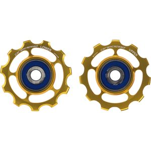CeramicSpeed 11 Speed Aluminum Pulley Wheels - Limited Edition Gold