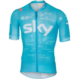 Castelli Team Sky Climber's 2.0 Full-Zip Jersey - Men's