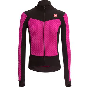 Castelli Sfida Long-Sleeve Full-Zip Jersey - Women s. pink  black ... 6032babd2