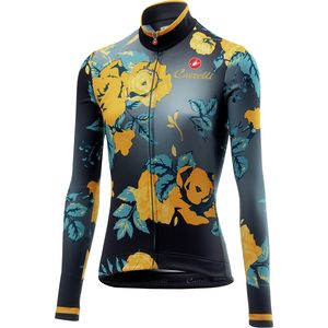 Castelli Scambio Long-Sleeve Jersey - Women s. blue  black  more cc8bd51ce