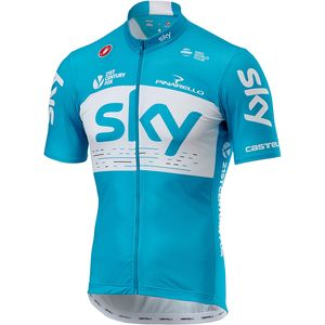 Castelli Team Sky Fan Jersey - Men's