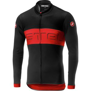 Castelli Prologo VI Long-Sleeve Full-Zip Jersey - Men's