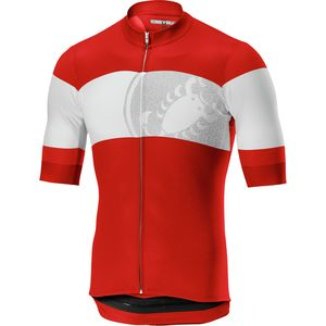 Castelli Ruota Full-Zip Jersey - Men's