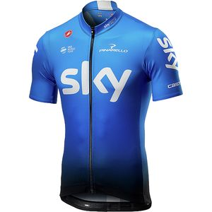 Castelli Team Sky Fan 19 Jersey - Men's