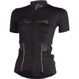 Castelli Coco Full-Zip Short Sleeve Women's Jersey