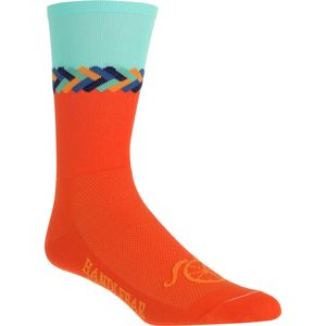 DeFeet Handlebar Mustache 6in Sock
