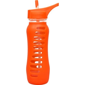 Eco Vessel Surf Glass Bottle With Silicone Sleeve - 22oz