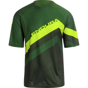 Endura SingleTrack Core Print Short-Sleeve Jersey - Men's