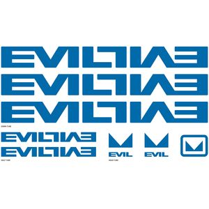 Evil Bikes Frame Decal Kit