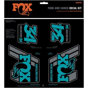 FOX Racing Shox Heritage Fork and Shock Decal Kit