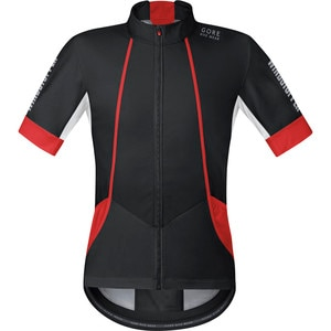 Gore Bike Wear Oxygen WindStopper Soft Shell Jersey - Short-Sleeve - Men's