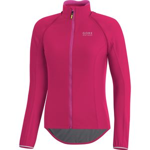 Gore Bike Wear Power Lady Gore Windstopper Zip-Off Long-Sleeve Jersey - Women's