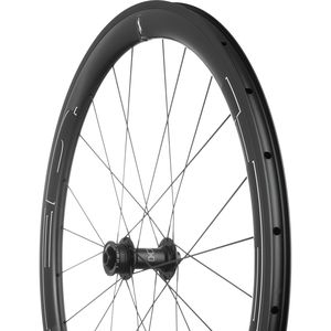 HED Jet 4 Plus Black Disc Brake Wheelset - Clincher