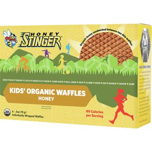 Honey Stinger Kids' Gluten Free Organic Waffles - 6-Pack