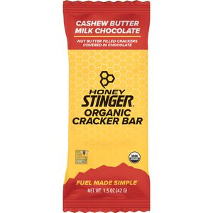 Honey Stinger Cracker N' Nut Butter Snack Bars - 12-Pack