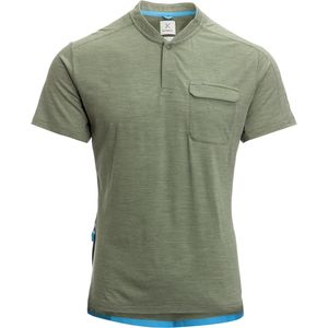 Kitsbow Collared Henley Jersey - Men's