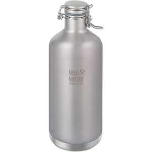 Klean Kanteen Vacuum Insulated Water Bottle with Swing Lok Cap - 64oz