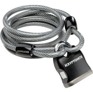 Kryptonite KryptoFlex 818 Looped Cable & Key Padlock