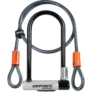 Kryptonite KryptoLok STD Double Deadbolt U-Lock + 120cm Cable