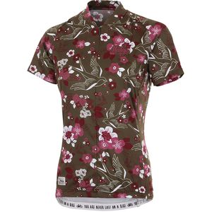 DoveM. AOP 1/2 Jersey - Short-Sleeve - Women's