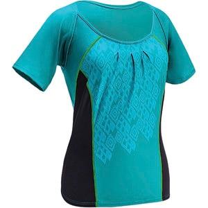 Wrap Jersey - Short Sleeve - Women's