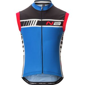 Nalini Aggia Lightweight Sleeveless Full-Zip Jersey  - Men's
