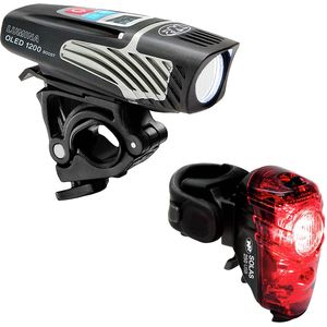 NiteRider Lumina OLED 1200 Boost and Solas 250 Light Combo