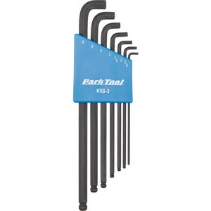Park Tool Stubby Hex Wrench Set:  1.5mm to 6mm
