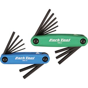 Park Tool Fold-Up Hex and Torx Wrench Combo Set - FWS-2