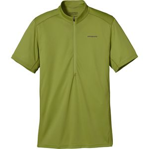 Fore Runner Zip Neck Shirt - Short-Sleeve - Men's