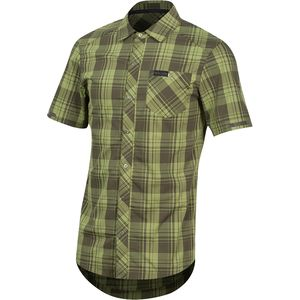 Pearl Izumi Short-Sleeve Button-Up Jersey - Men's