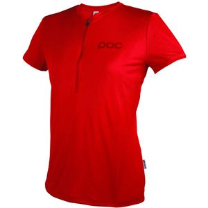 POC Trail Light Zip T-Shirt - Short Sleeve - Women's