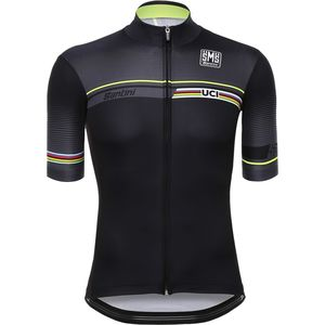 Santini UCI World Champion Jersey - Men's