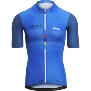 Santini Road World Championships Lugano, Switzerland Jersey - Men's