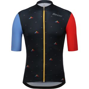 Santini Andorra C Plus Rider Short-Sleeve Jersey - Men's
