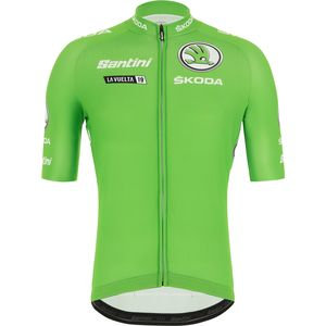 Santini La Vuelta Leader Best Sprinter Short-Sleeve Jersey - Men's