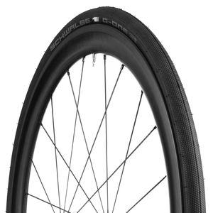 700C Bike Tyre Clincher Schwalbe G-One Speed Folding 700X30c Black