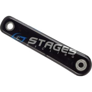 Stages Cycling Carbon Single Leg Power Meter Crank Arm for SRAM Force/Rival - BB30
