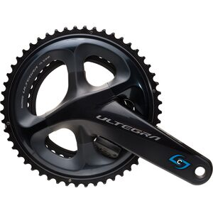 Stages Cycling Shimano Ultegra R8000 R Gen 3 Power Meter Crank Arm with Chainrings