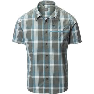 Shimano Transit Check Button Up Short-Sleeve Shirt - Men's