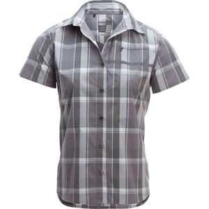 Shimano Transit Check Button Up Shirt - Short-Sleeve - Women's