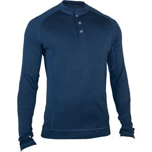 Long-Sleeve Wool 1/4-Zip Base Layer - Men's
