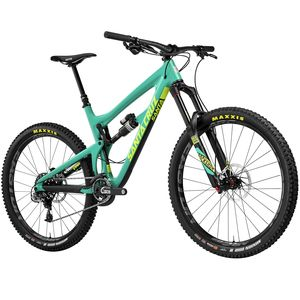 Santa Cruz Bicycles Nomad Carbon CC Eagle X01 Complete Mountain Bike - 2017