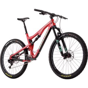 Santa Cruz Bicycles 5010 2.0 Carbon S Complete Mountain Bike - 2017