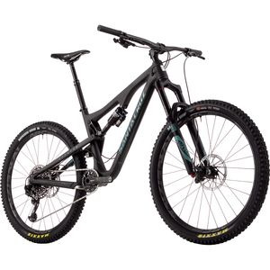 Santa Cruz Bicycles Bronson 2.0 Carbon CC X01 Eagle Complete Mountain Bike - 2017