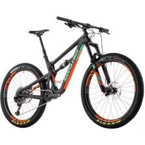 Santa Cruz Bicycles Hightower Carbon CC 27.5+ X01 Eagle ENVE Complete Mountain Bike - 2017