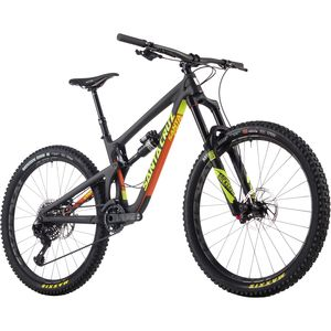 Santa Cruz Bicycles Nomad Carbon CC XX1 Eagle Complete Mountain Bike - 2017