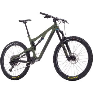 Santa Cruz Bicycles Bronson 2.1 Carbon S Complete Mountain Bike - 2018