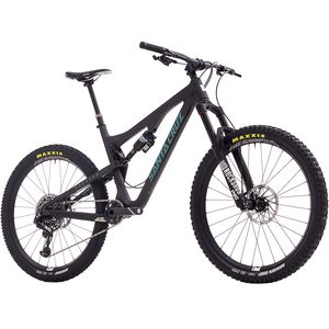 Santa Cruz Bicycles Bronson Carbon CC X01 Eagle Complete Mountain Bike - 2017